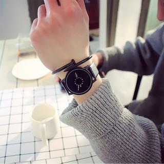 (Giá sỉ) Đồng hồ thời trang nam nữ kim ngược Witan W47