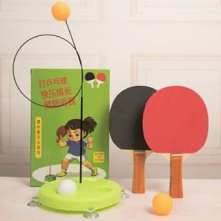 Bộ đồ chơi bóng bàn phản xạ cho bé loại vợt gỗ| bộ vợt bóng bàn trẻ em