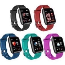 Đồng hồ đeo tay thông minh 116 PLUS D13 Đo Nhịp tim Huyết áp