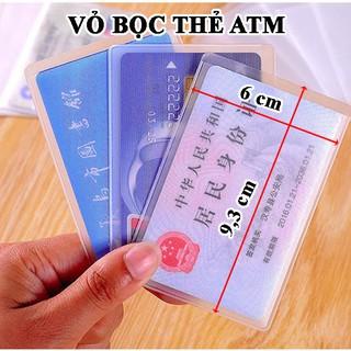Vỏ bọc thẻ atm, bao túi đựng thẻ sinh viên, nhân viên, học sinh, name card, card visit, CMND thumbnail