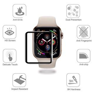 Kính cường lực 3D dán bảo vệ màn hình đồng hồ thông minh Apple iWatch 38mm 42mm