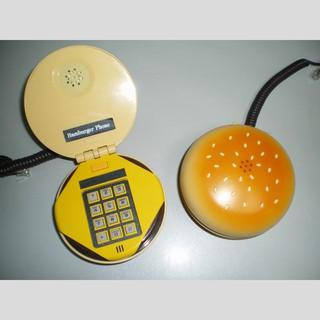 Điện thoại để bàn hình bánh mì hamburger thumbnail