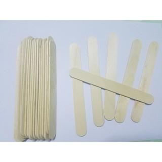 Que kem gỗ cao cấp – Bộ 100 que ( 2 * 15 cm)