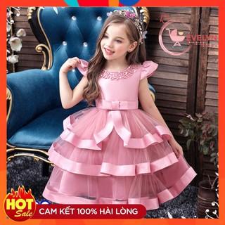 Đầm công chúa cho bé gái 👗 FreeShip + Tặng kèm nơ 🌺 Đầm công chúa Evelyn cho bé siêu xinh VF20 E001 E003