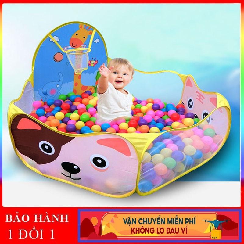 Lều bóng cho bé cỡ đại 120cm hình Doreamon Helokitty Hươu Sao,nhà banh,quây bóng đồ chơi cho bé