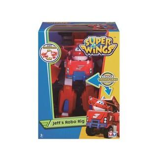 Đồ chơi Robot biến hình kết hợp xe cứu hộ nhỏ – Jett Tia Chớp SKU YW720311 – Super wings – biệt đội bay siêu đẳng