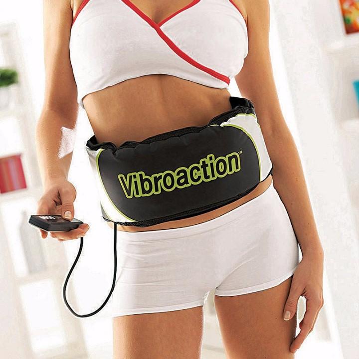 Đai mát xa Vibroaction - Đai massage bụng vibroaction