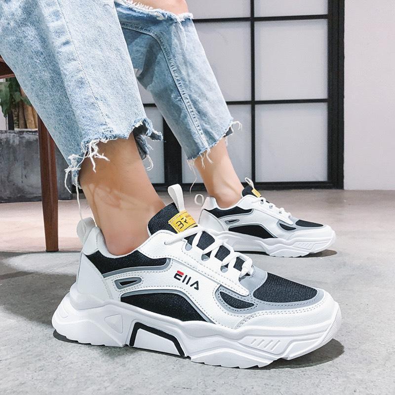 Giày nam tăng chiều cao 5cm Phản Quang EIILAA cực chất - giày thể tha