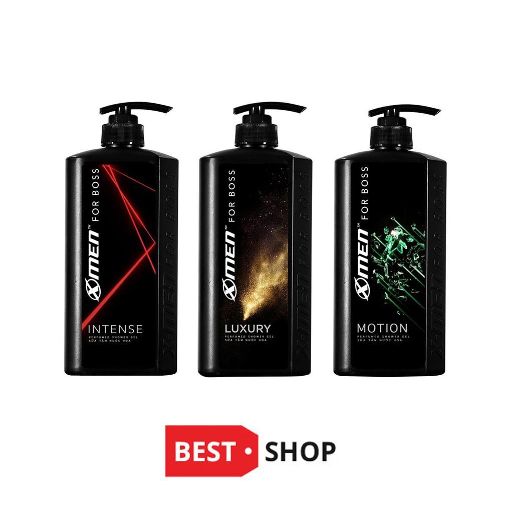 [GIÁ SỈ]Dầu Gội Hoặc Sữa Tắm X-Men For Boss 650g Mùi Luxury/Motion/Intense - Giá Sỉ