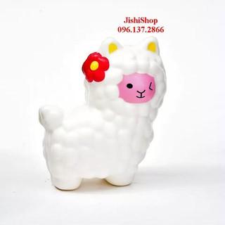 (2) Con Cừu To Bự – Màu Trắng Squishy t187