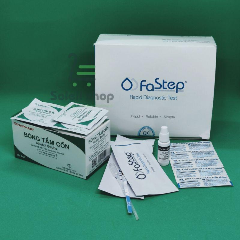 Bộ test thử Viêm gan B, dễ sử dụng, an toàn và tiết kiệm chi phí - Soleil shop