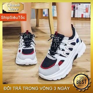 Giày Thể Thao Nữ Đẹp 💖FREESHIP💖 Giày Nữ Độn Đế 5p Tăng Chiều Cao, Giày Sneaker Hàng Quảng Châu Cao Cấp