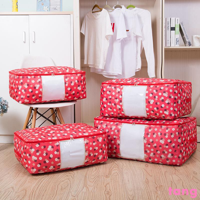 New Spot Oxford Cloth Quilt Bag Quilt finishing bag clothes storage bag storage