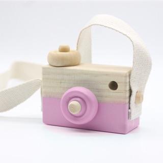 Máy ảnh đồ chơi bằng Gỗ cho bé iu