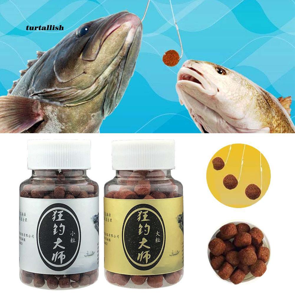 TUR♥120/350Pcs Squid Carp Fish Bait Soft Lures Particles Balls Fishing Accessories