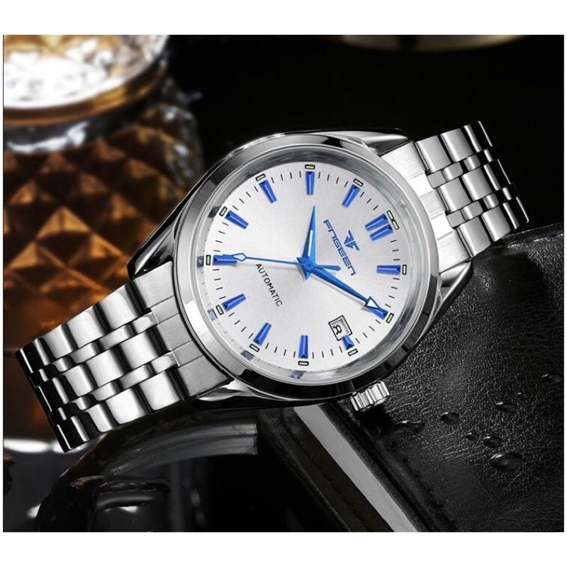⏰FREESHIP⏰ Đồng hồ nam fngeen cơ chạy tự động mang phong cách lịch lãm