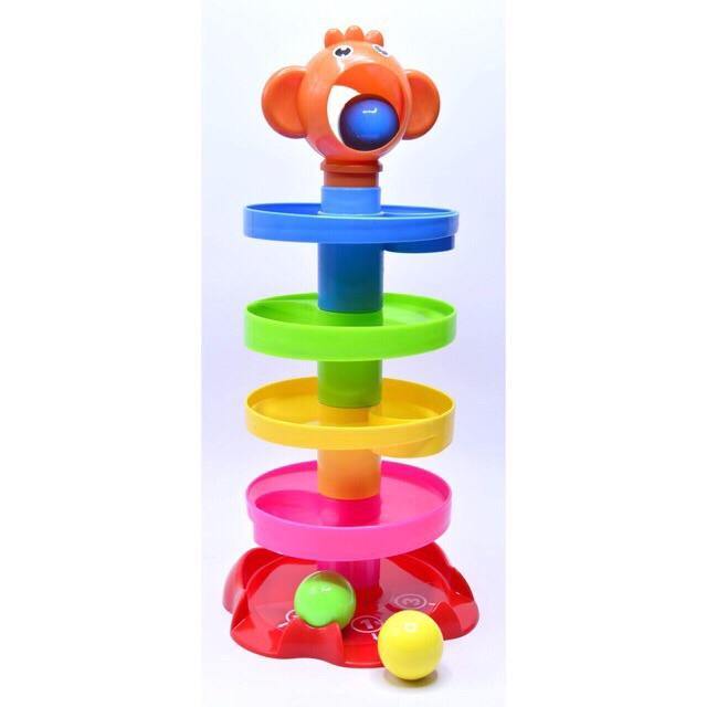 Bộ đồ chơi thả bóng lăn -quà tặng của sữa Enfa A+