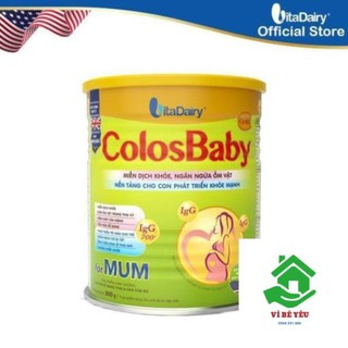 Sữa bột ColosBaby Gold Mum 800G Date T5 2022