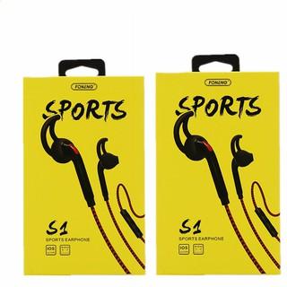 Tai nghe S1, tai nghe thể thao có dây lõi tứ, âm thanh nổi HiFi, sử dụng được với tất cả các dòng điện thoại thumbnail