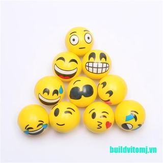 (DO-dmc)6.3cm Stress Ball Novetly Squeeze Ball Exercise Stress Ball PU Rubber Toy