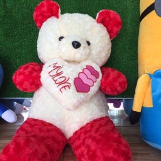 Gấu ôm tim My Love khổ 1m