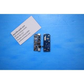 Mạch boost 3.7V lên 5-8V dùng chế quạt mini