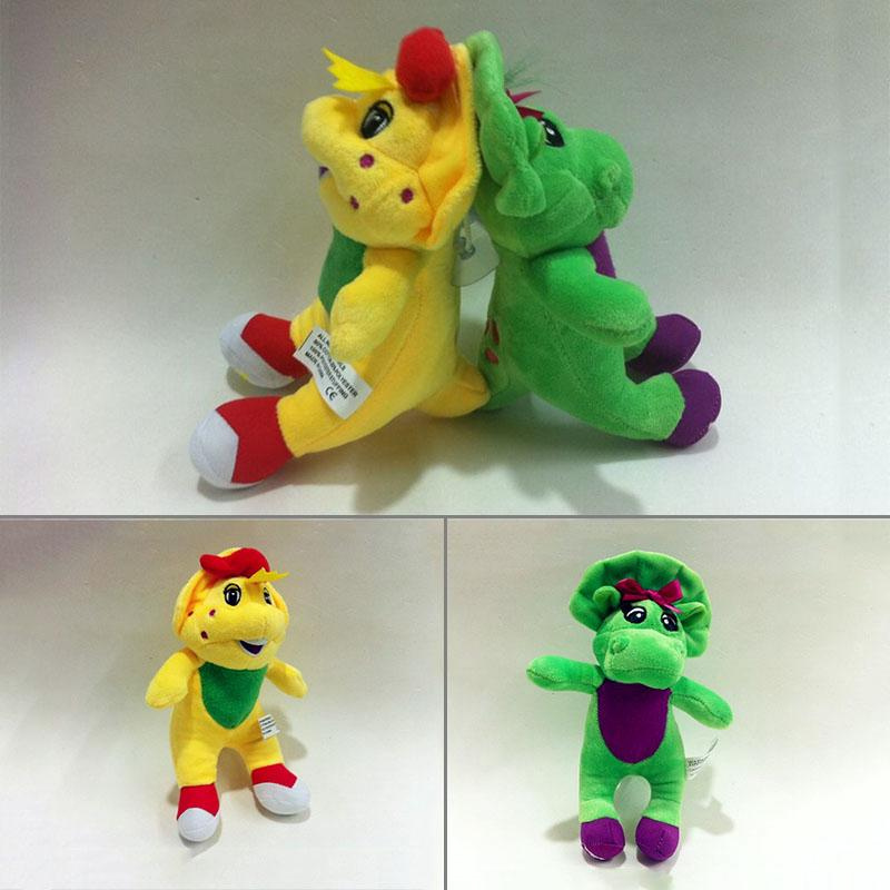 Cute Barney & Friend Baby Bop BJ Plush Doll Toy New Christmas Gift Toys For Kids