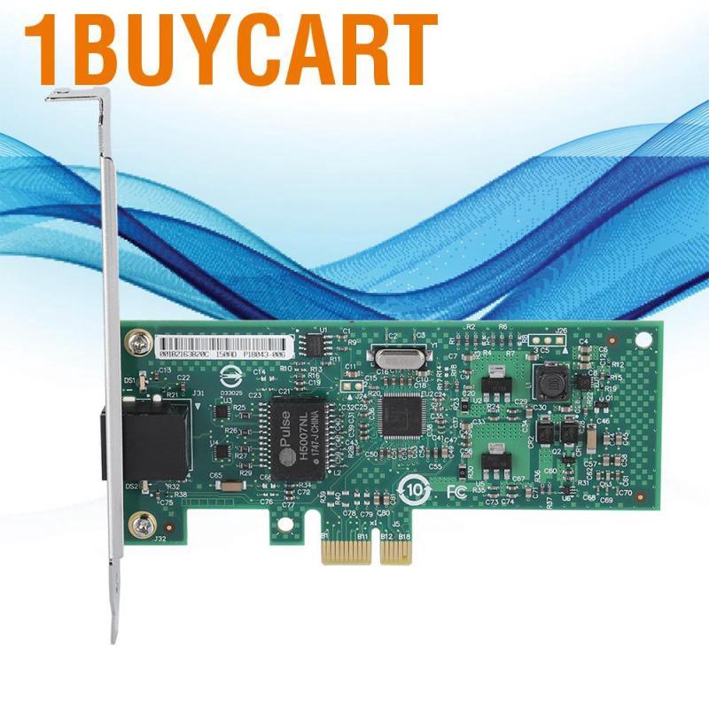 1buycart For INTEL 82574L Gigabit PCI-e Network Adapter Card Desktop 1000Mbps LED Indicator