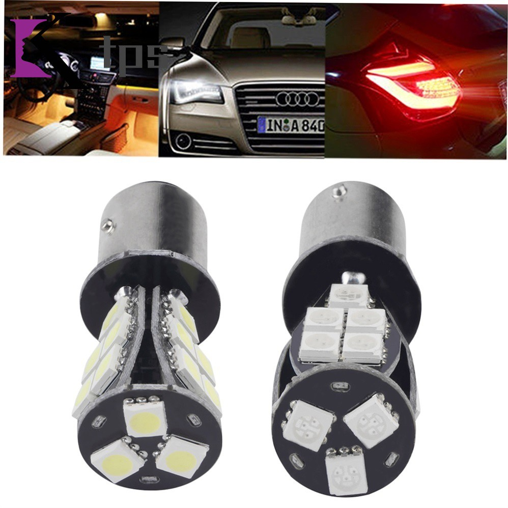 Car Light 1157 BAY15D P21/5W 18SMD Error Free Brake Tail Car LED Light Bulb zh5