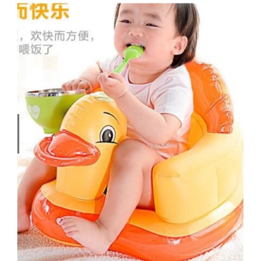 [RẺ VÔ ĐỊCH] ghế tập ngồi bằng hơi cao cấp cho bé - nhiều màu | Bán Chạy