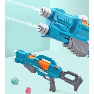 [XẢ HÀNG] Đồ chơi súng nước 2 nòng đựng nhiều nước bắn xa - Súng bắn nước vui chơi trẻ em đựng nhiều nước thumbnail