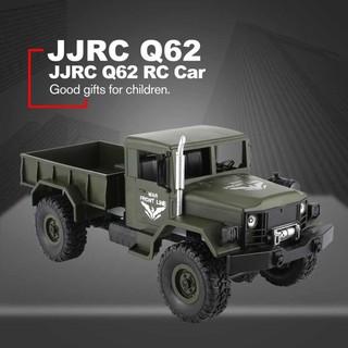 Xe Điều Khiển Quân Sự JJRC Q62 Tỉ Lệ 1:16 4WD Truyền Động 4 Bánh