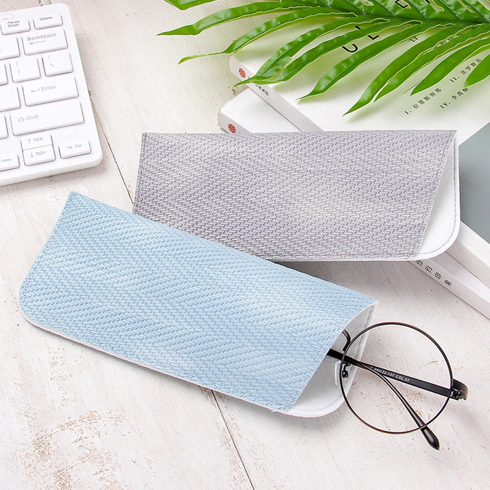 NEEDWAY Portable PP Grass Sunglasses Container Acceaaories Glasses Bags