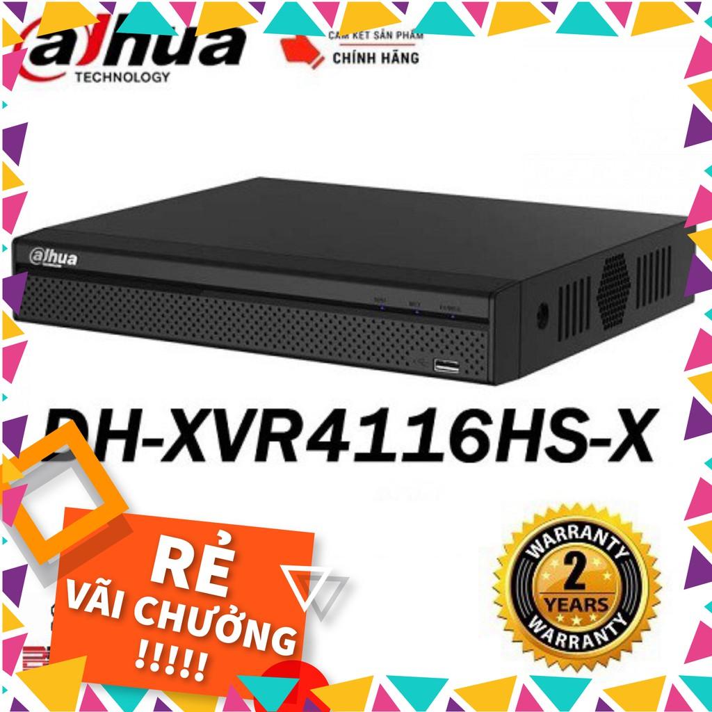 ĐẦU GHI HÌNH DAHUA 16 CỔNG DHI-XVR4116HS-X - Hàng chính hãng 100% - C