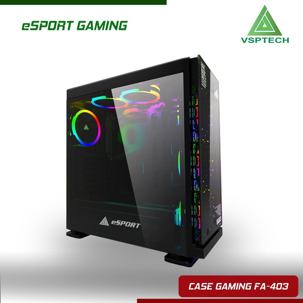 CASE NEW - Case VSP FA-403 eSPORT Gaming | Shopee Việt Nam