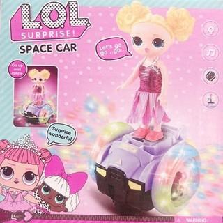 Cô bé LOL Space Car đèn nhạc