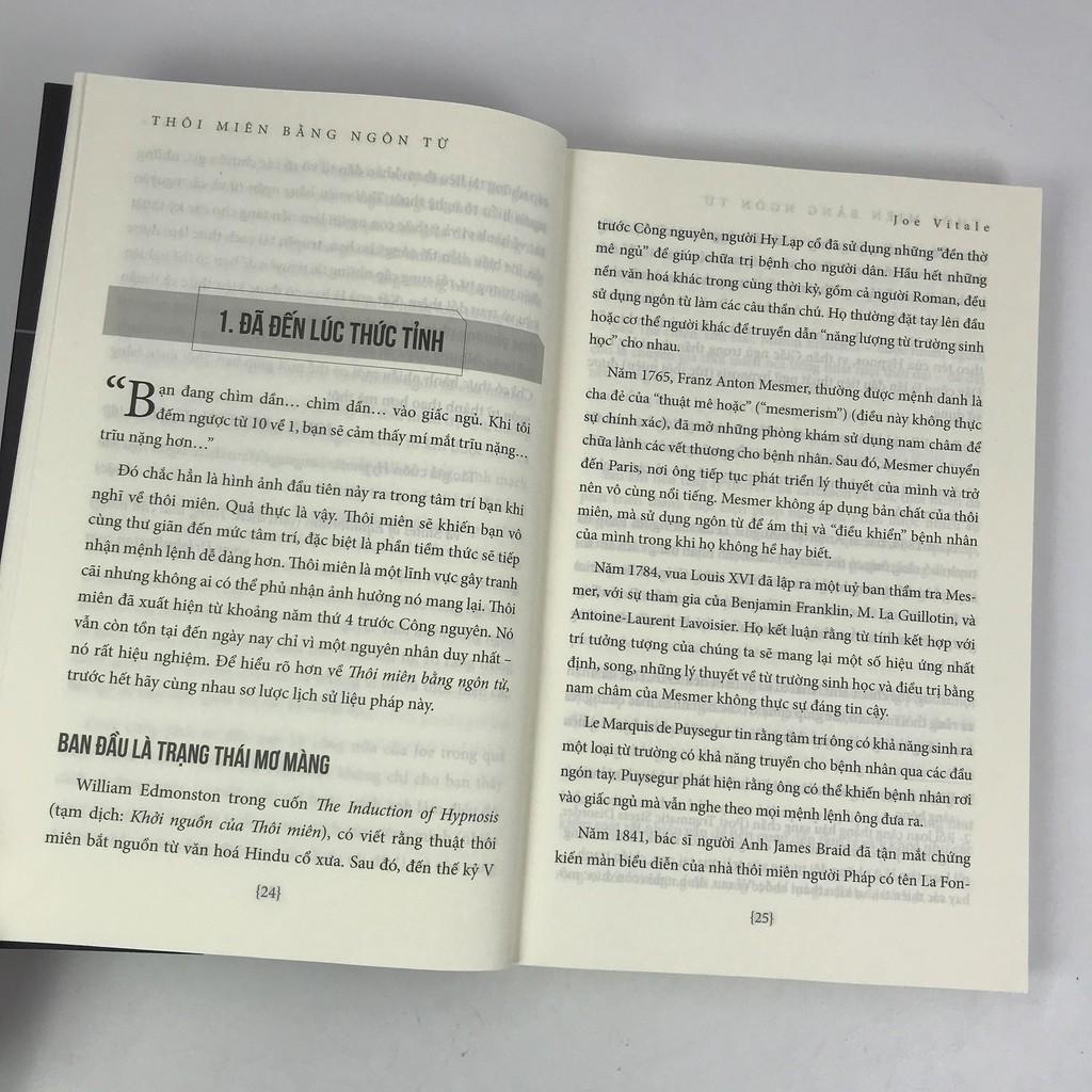 Sách - Thôi Miên Bằng Ngôn Từ