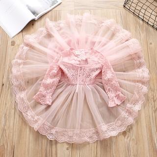 Váy công chúa chất ren tay lỡ