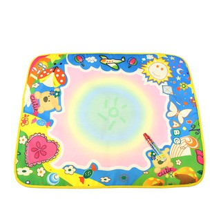 60x49cm Kids Doodle Water Drawing Mat & Magic Pen Painting Board Educational Toys