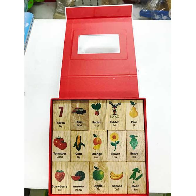 Trò chơi domino bảng chữ cái và hình mô tả chi tiết