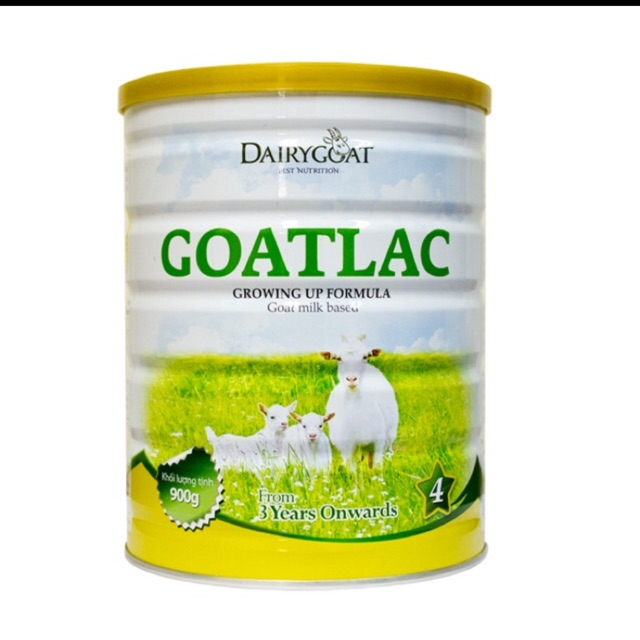 Sữa GOATLAC 4 (900g) dành cho trẻ từ 3 tuổi trở lên