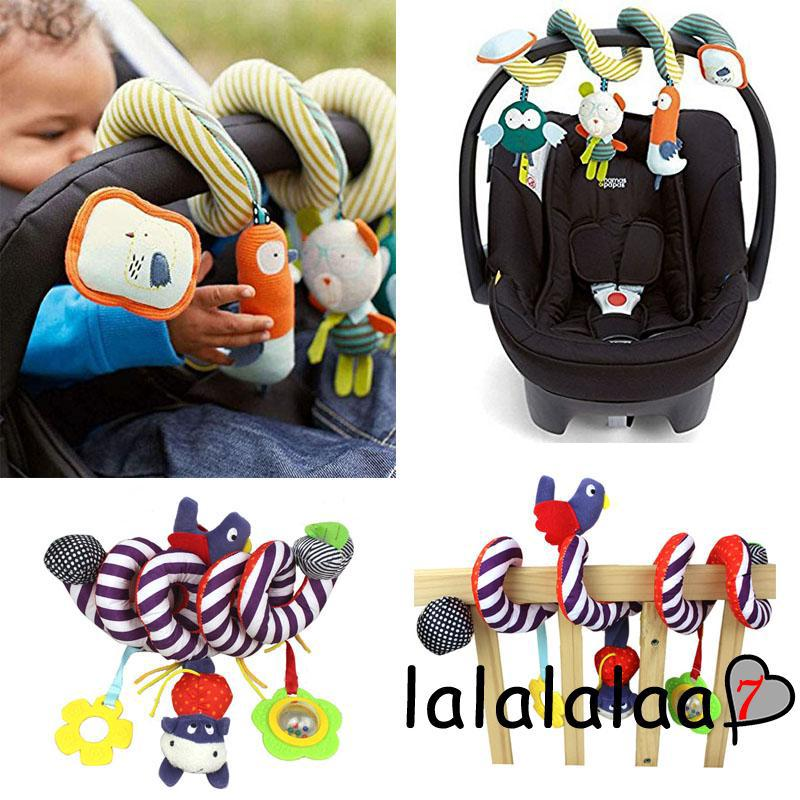 NL7-Hot Funny 1pc Lovely Baby Toy Newborn Rattles Stroller Bed Hanging