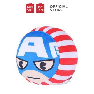 Gối tròn Miniso Marvel (Xanh) - Hàng chính hãng