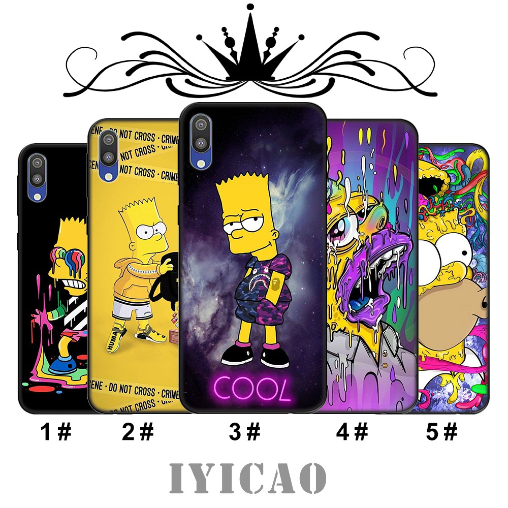 Samsung Galaxy A10 A10s A20 A20s A20E A30 A30s A40 A40s A50 A50s Casing Soft Case BZ106 The Simpsons Ready Stock