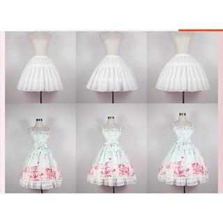 (HÀNG CÓ SẴN) Váy tùng phồng Lolita cosplay có thể điều chỉnh độ rộng