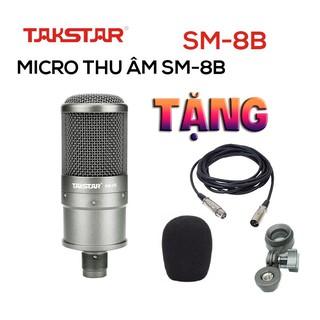 Takstar SM-8B – Micro Thu Âm Chuyên Nghiệp