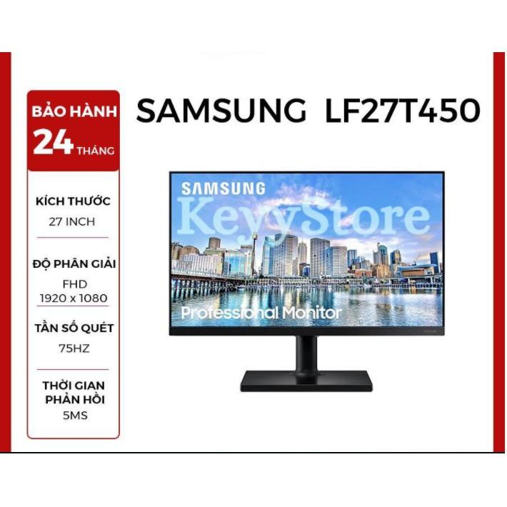 Màn hình Samsung 27 inch viền mỏng LF27T450 Đồ Họa Full HD 75hz Chính Hãng