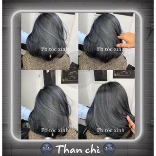 [KHÔNG TẨY] Thuốc Nhuộm Tóc Màu THAN CHÌ Hàn Quốc FB Thuốc Nhuộm Tóc thumbnail