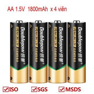 Vỉ 4 Viên Pin Alkaline Battery Không Sạc 1.5V Cam Kết Dung Lượng Thật