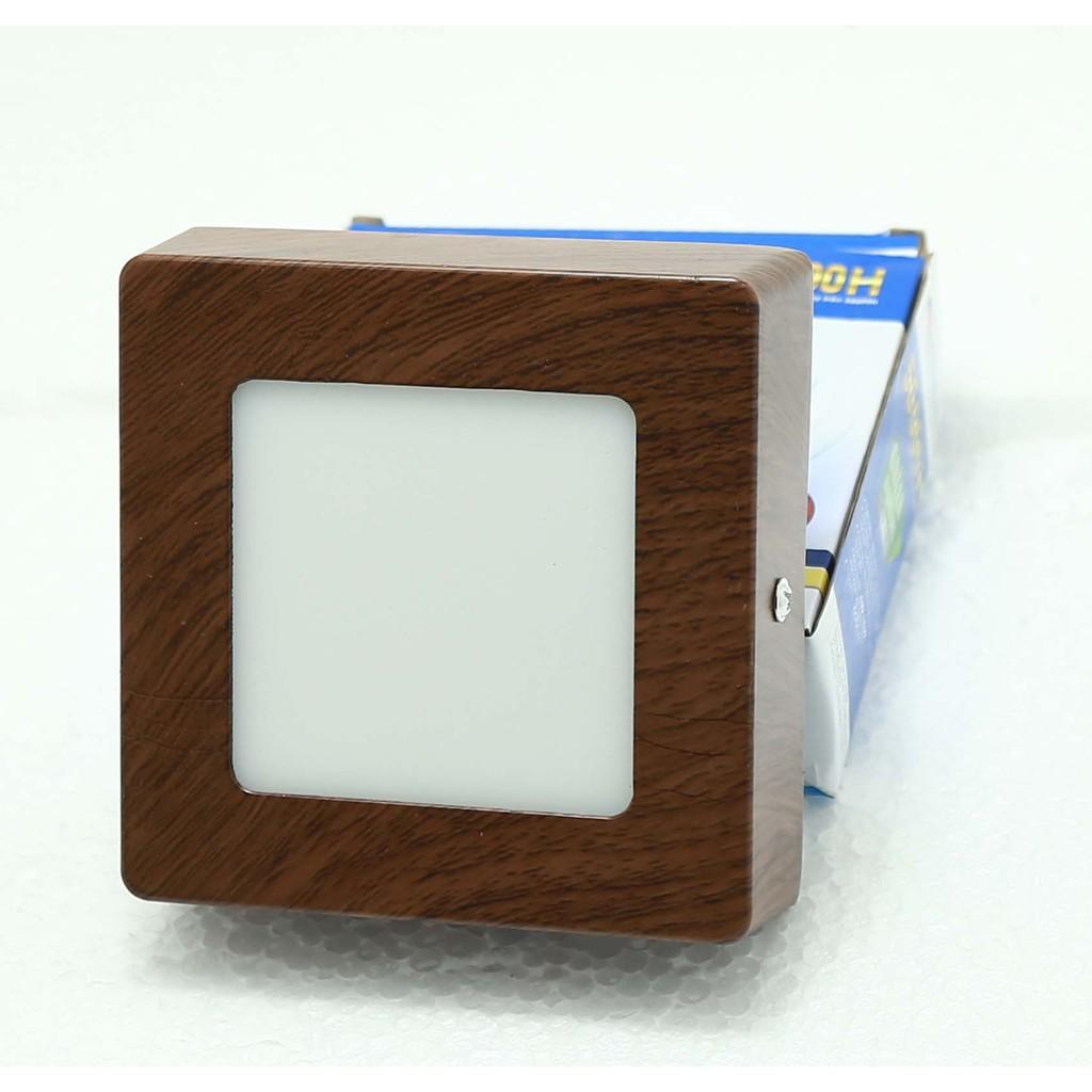 ĐÈN LED GẮN TRẦN GIẢ GỖ SANG TRỌNG 24W D300*40mm